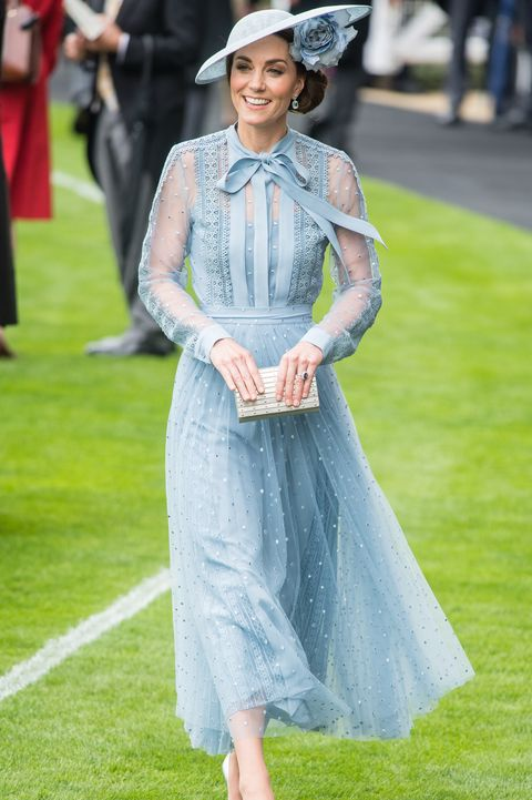 kate middleton elie saab dress Royal Ascot 2019 - Day One