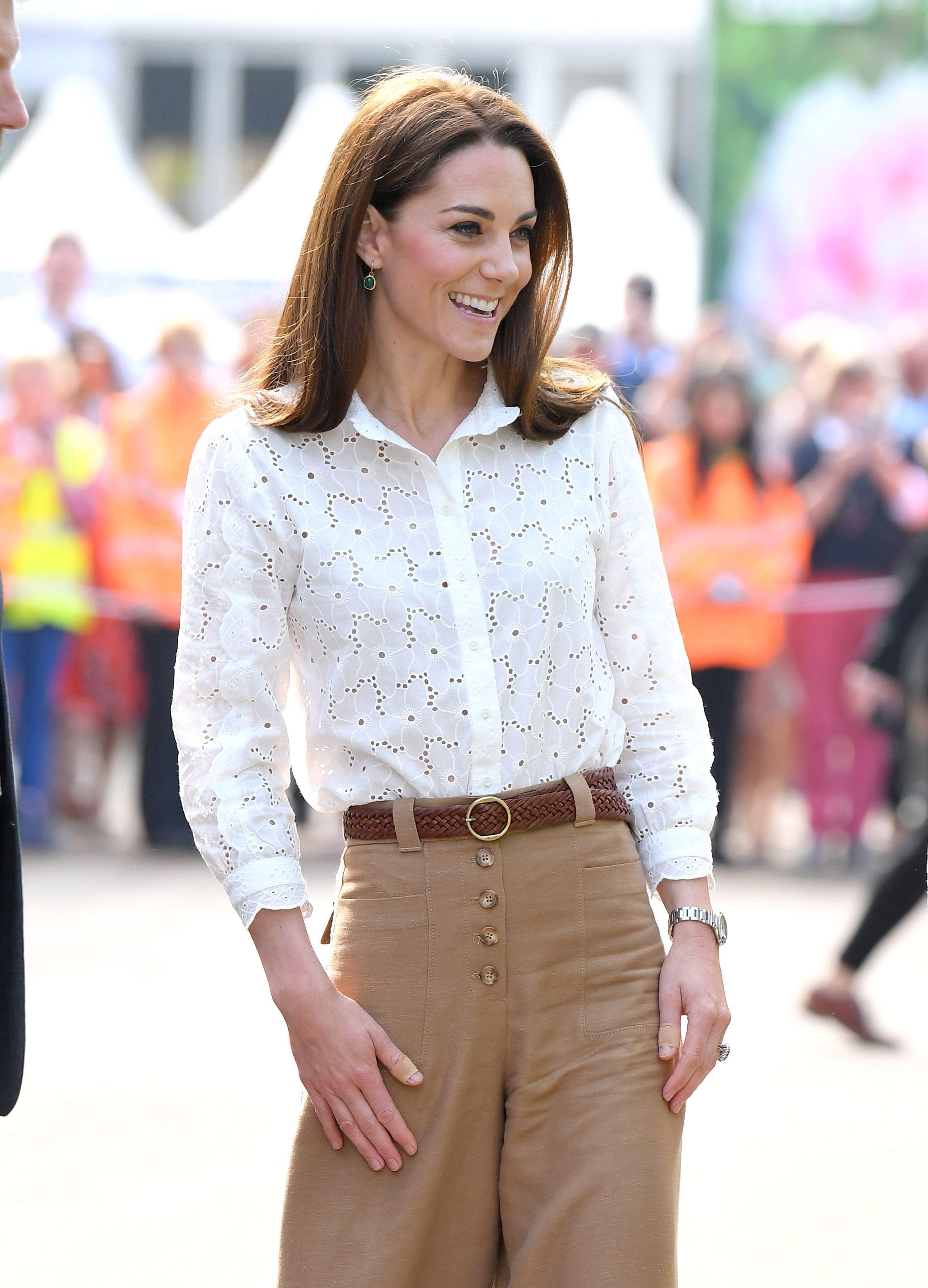 Kate Middleton Wore Superga Sneakers