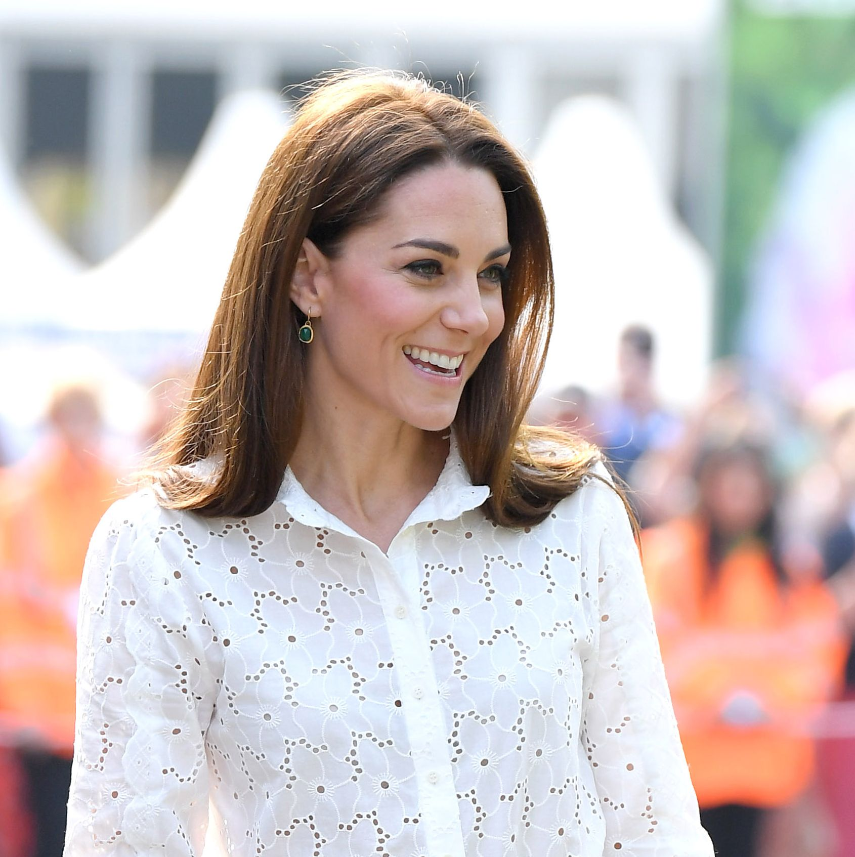 How Kate Middleton Paid Tribute to Princess Diana at the Chelsea Flower Show