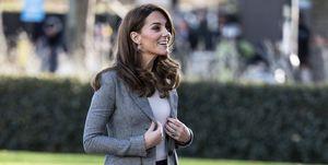 Kate Middleton en un acto el 12  noviembre 2019
