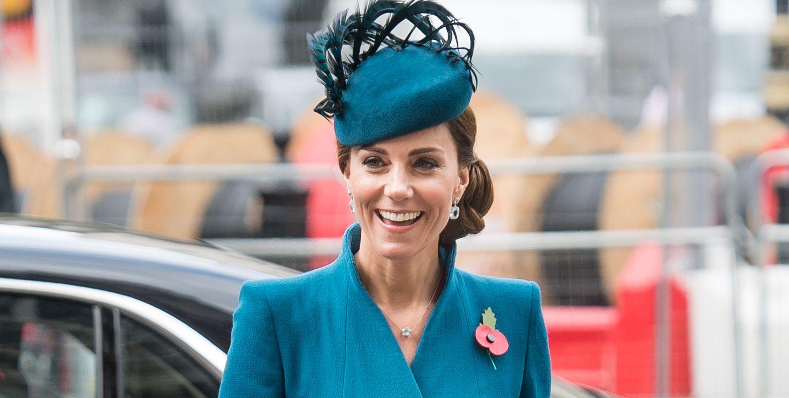 Duchess Of Cambridge Attends ANZAC Day Service