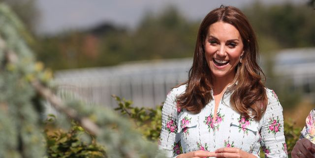 Kate Middleton Wears a $2,255 Emilia Wickstead Dress for Surprise RHS Wisley Appearance