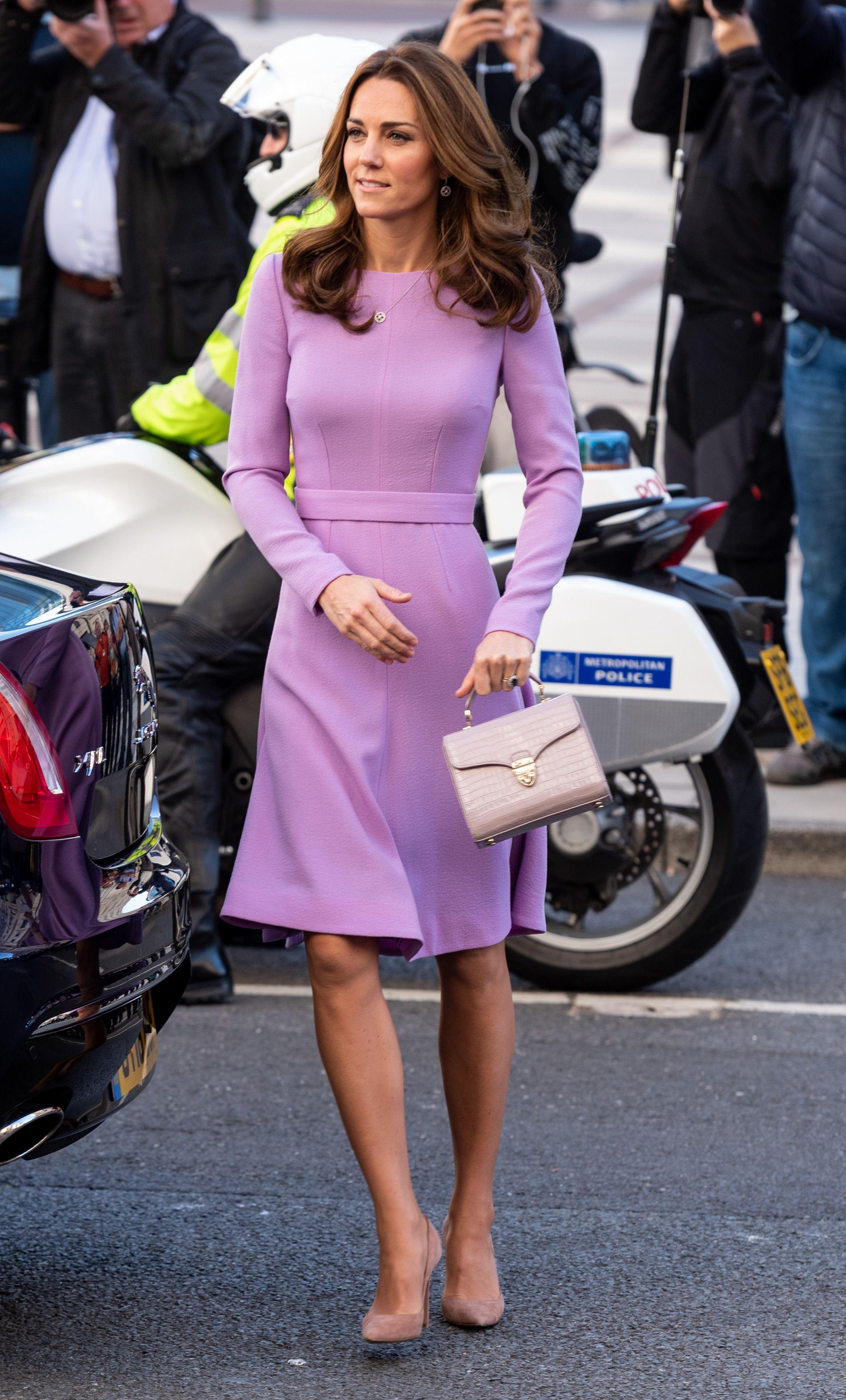 The Duchess of Cambridge wore a chic Erdem dress to the Victoria & Albert Museum