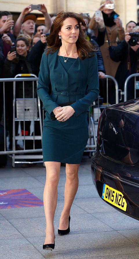 Kate Middleton Wears Short Dresses Like Meghan Markle