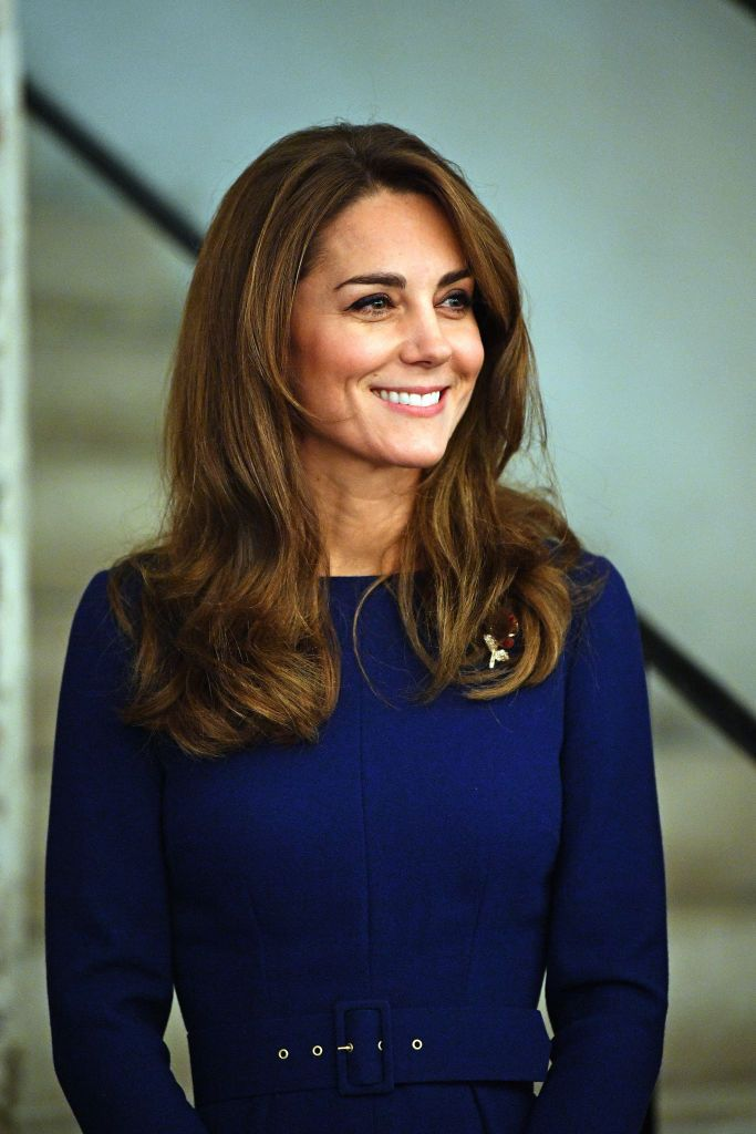 Kate Middleton's navy dress looks a lot like this £35 M&S one