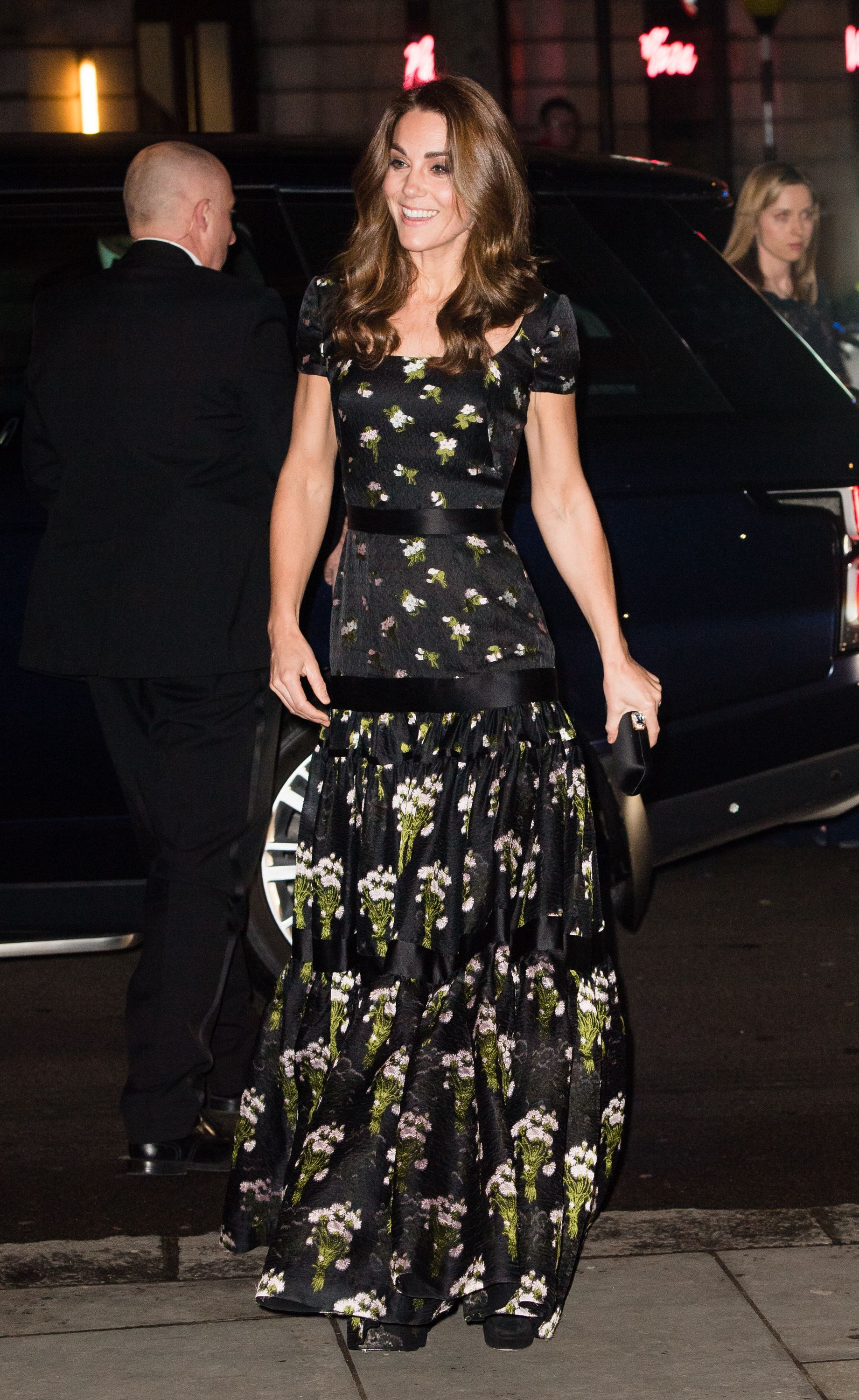Kate Middleton Rewears a Stunning Alexander McQueen Gown to the National Portrait Gallery Gala