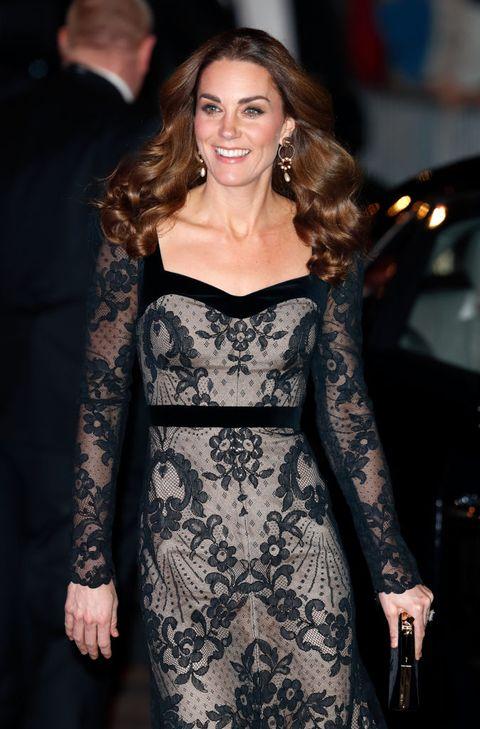 Kate Middleton Y Su Vestido De Encaje De Alexander Mcqueen