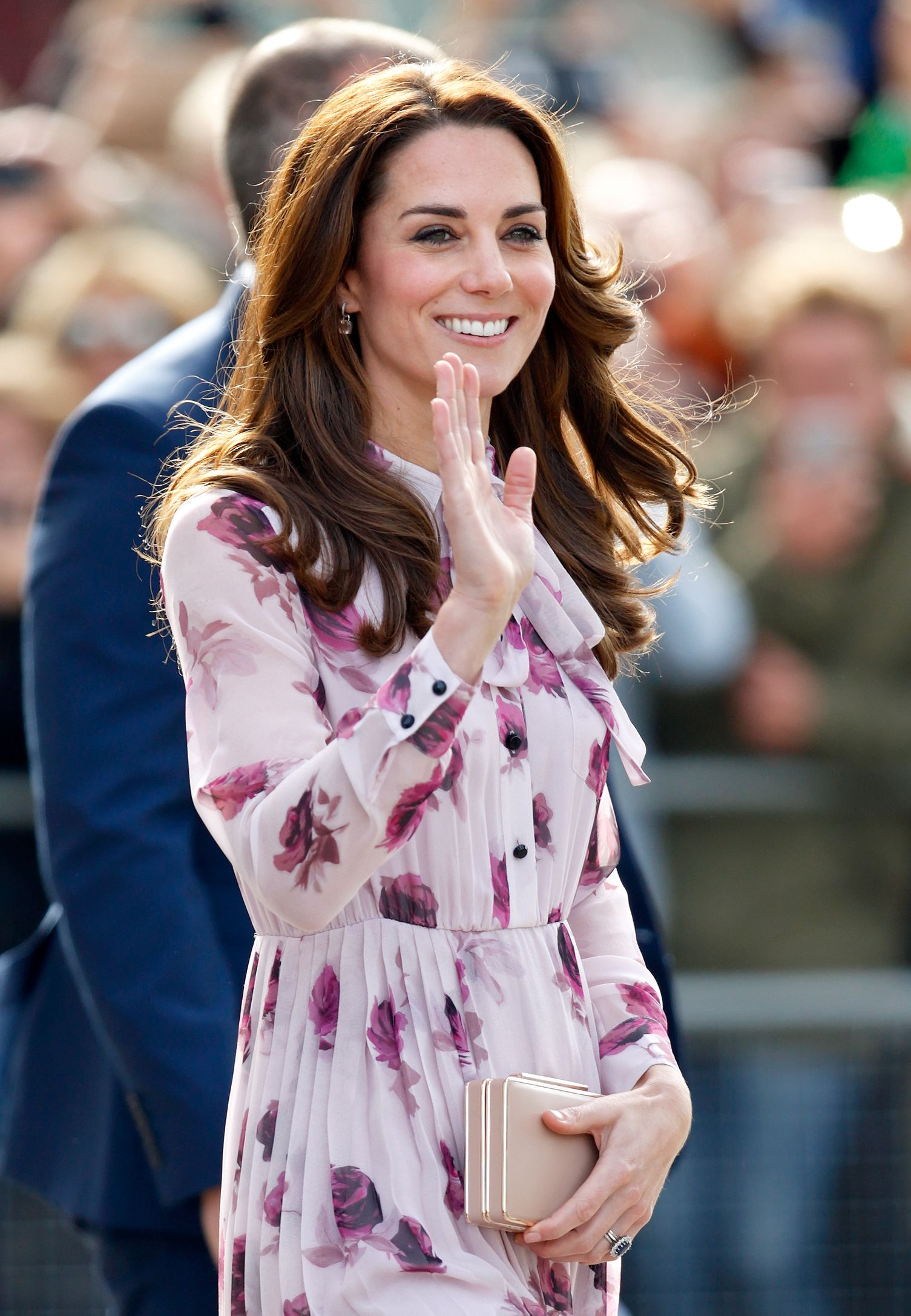 A New Photo of Kate Middleton in a Pink Dress at a Private Engagement Was Just Released by the Palace