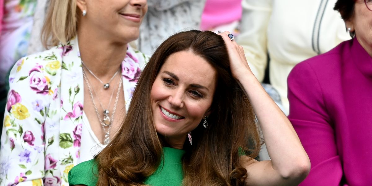 Kate Middleton Ends Self-Isolation And Attends The Wimbledon Ladies' Final