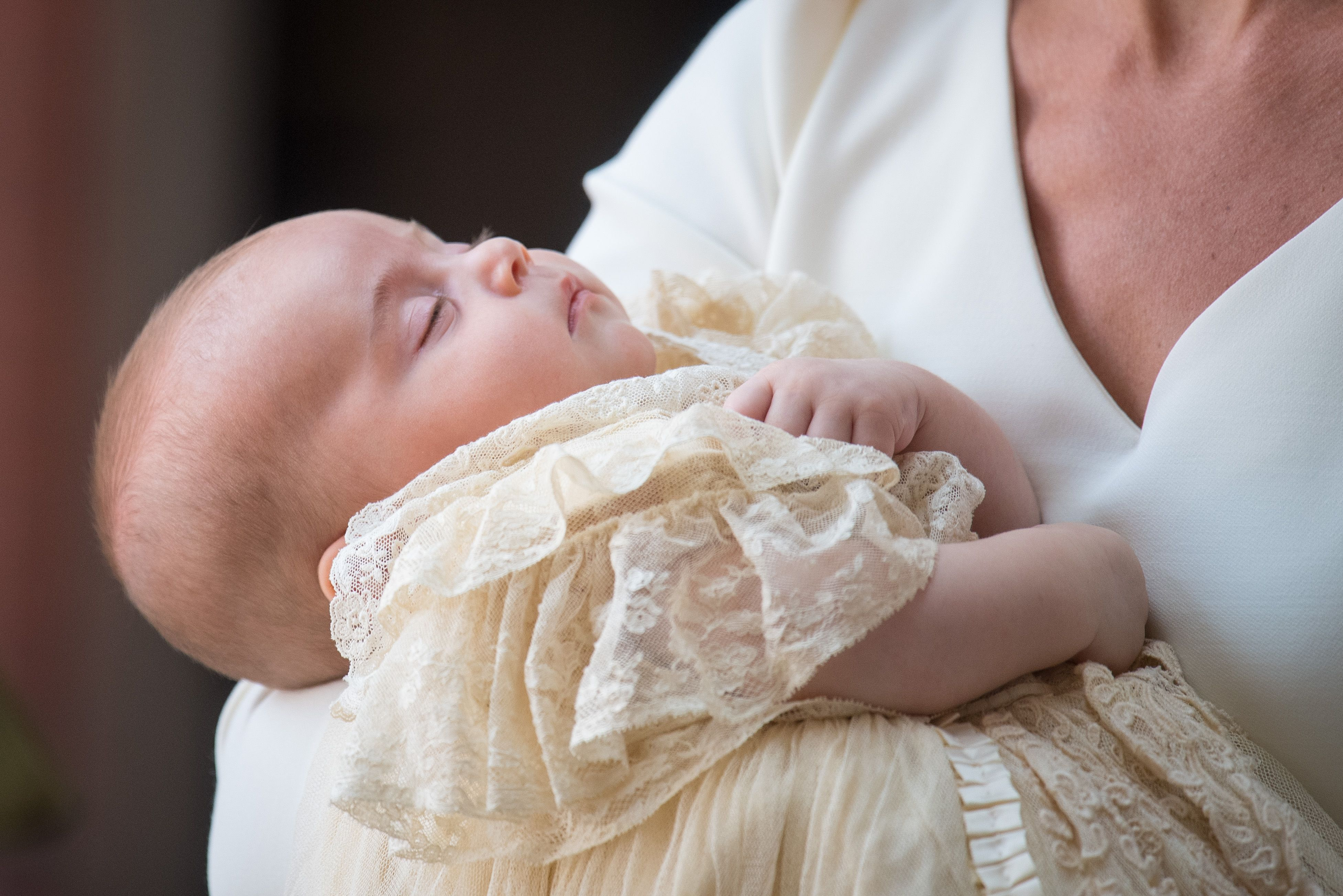 Why Prince Louis Wore A Different Christening Gown Than Prince William