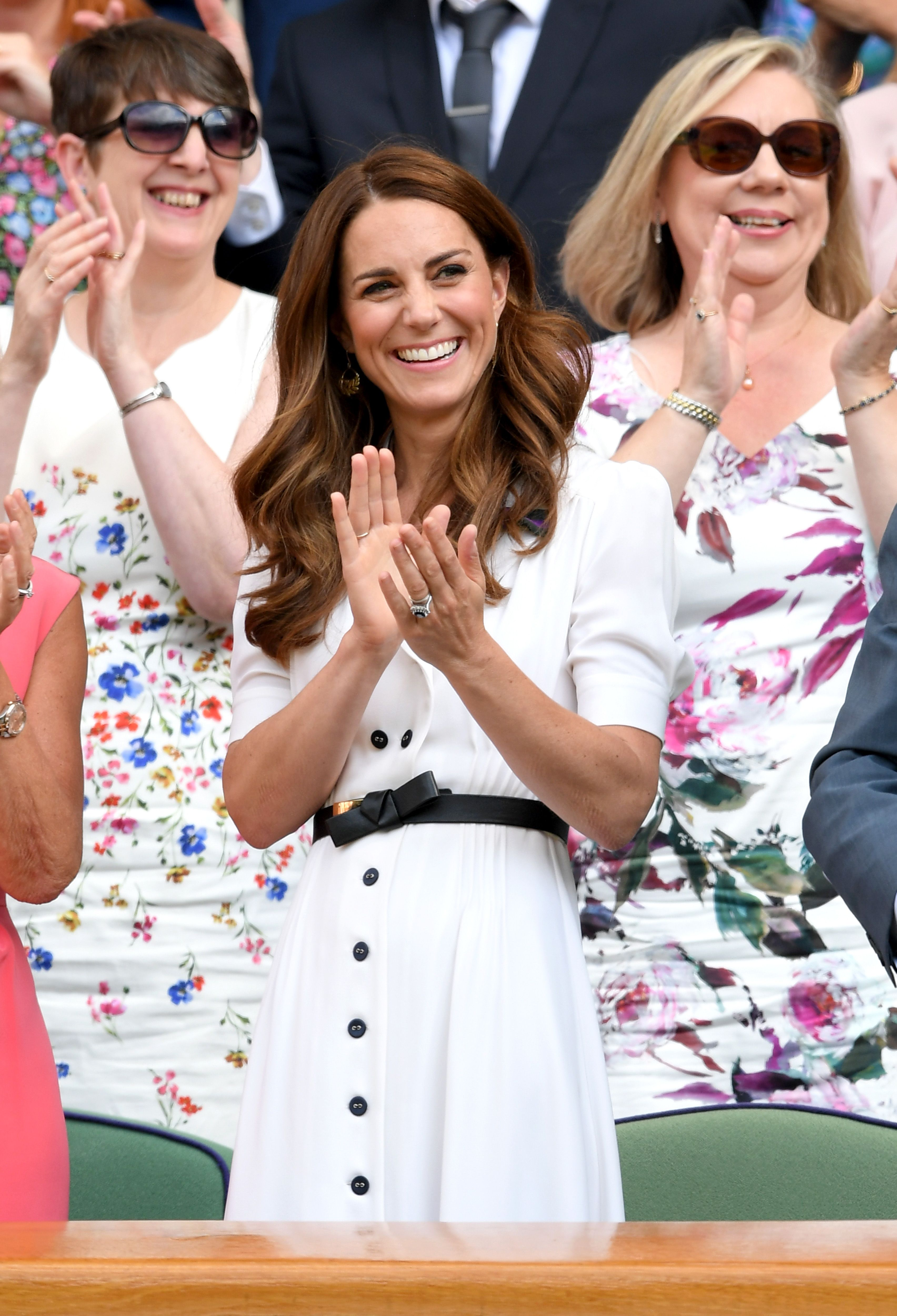 You can now buy Kate Middleton's white Wimbledon dress online