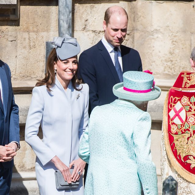 94556415865 The Royal Family Attend Easter Service At St George s Chapel
