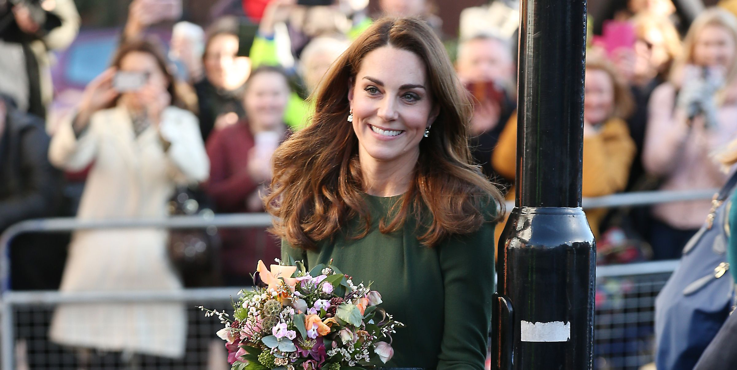 The Duchess Of Cambridge Launches Family Action Support Line