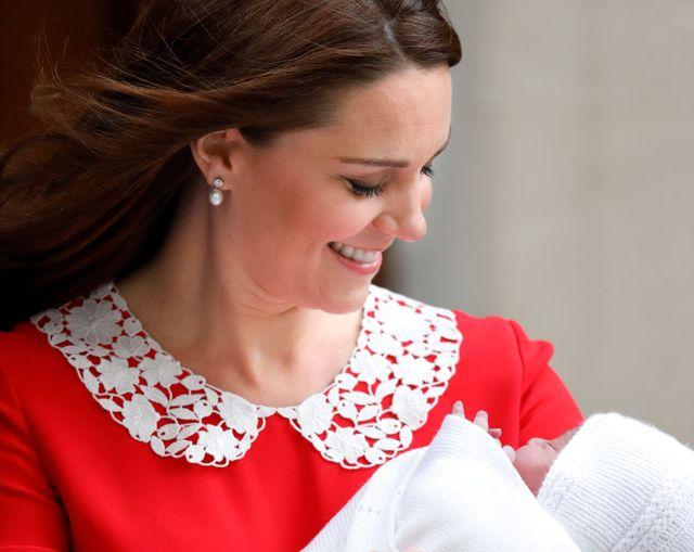 キャサリン妃出産