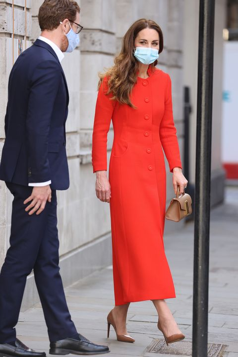 the duchess of cambridge marks the publication of