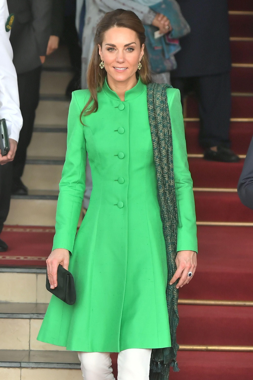 Kate Middleton showcases bright and vibrant style on Pakistan tour