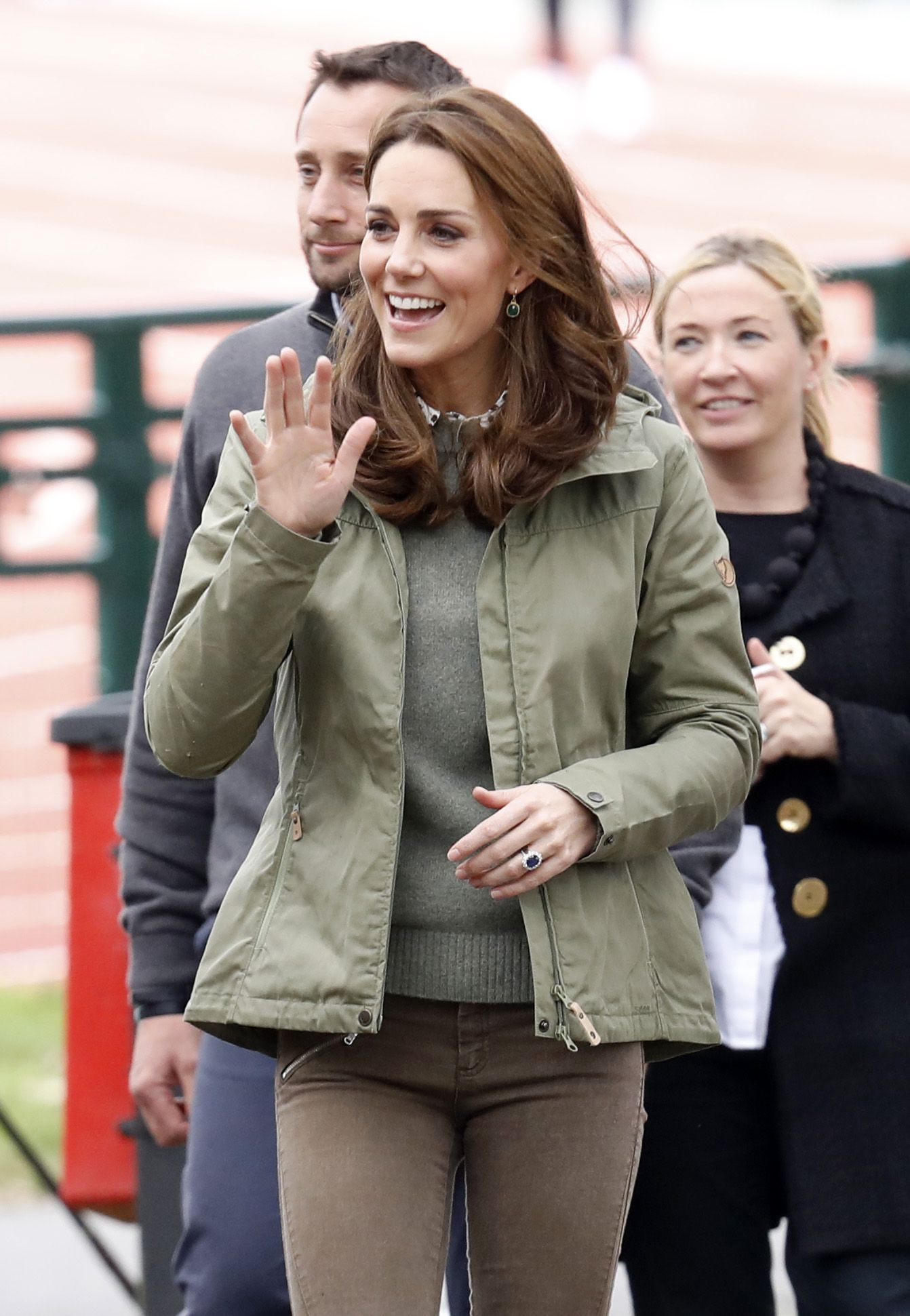 See All The Photos Of Kate Middletons First Appearance Back From