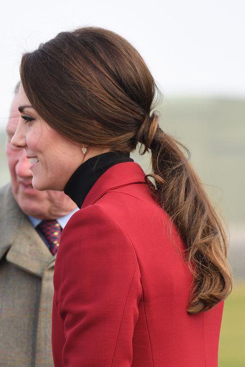Los peinados más copiados de Kate Middleton.
