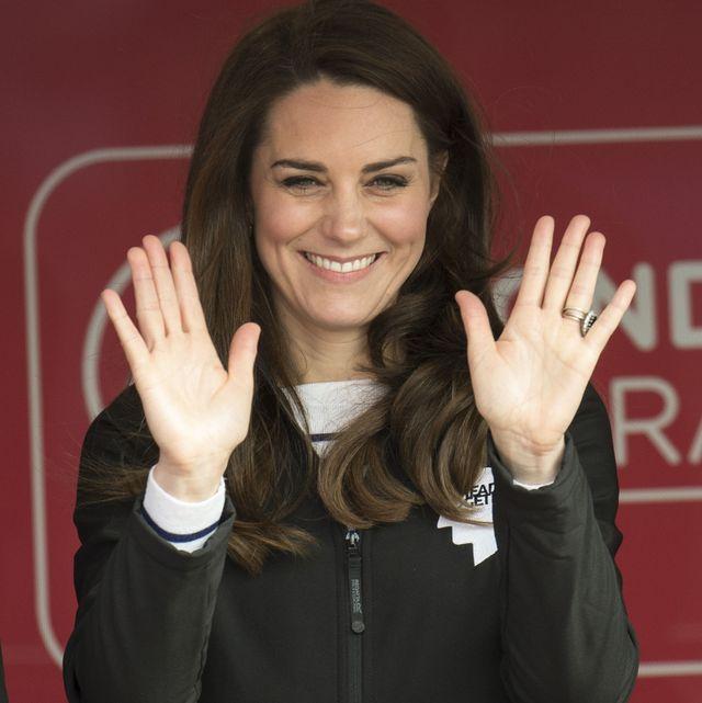 the duke  duchess of cambridge and prince harry attend the virgin money london marathon