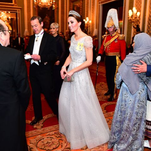 Catherine Duchess Cambridge Greets Guests Evening News Photo Crop Center Top Resize 480 Kate Middleton  Real Life Cinderella