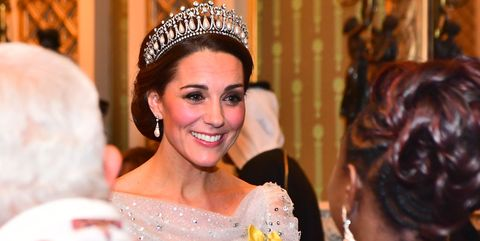 The Duke & Duchess Of Cambridge Attend Evening Reception For Members of the Diplomatic Corps