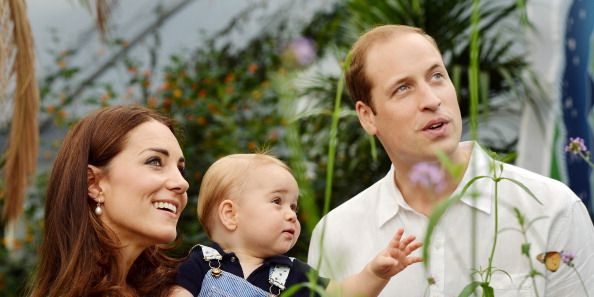 """Kate Middleton Describes Seeing """"Pure Joy"""" On Prince William's Face After She Gave Birth to George"""