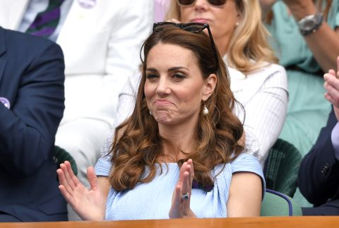 kate middleton Celebrities Attend Wimbledon 2019