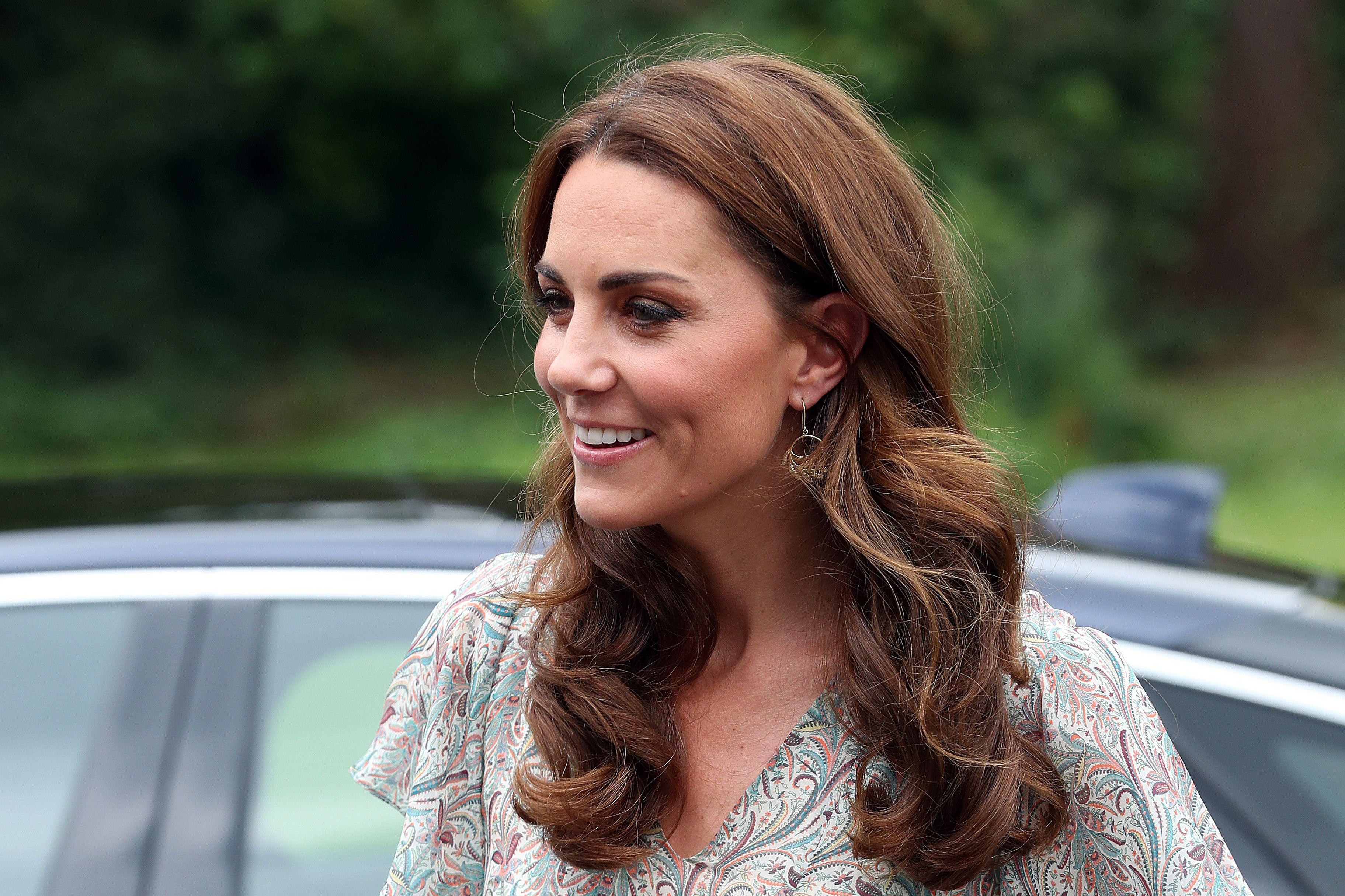 Kate Middleton Wore the Prettiest Summer Dress and Espadrilles to a Photography Workshop