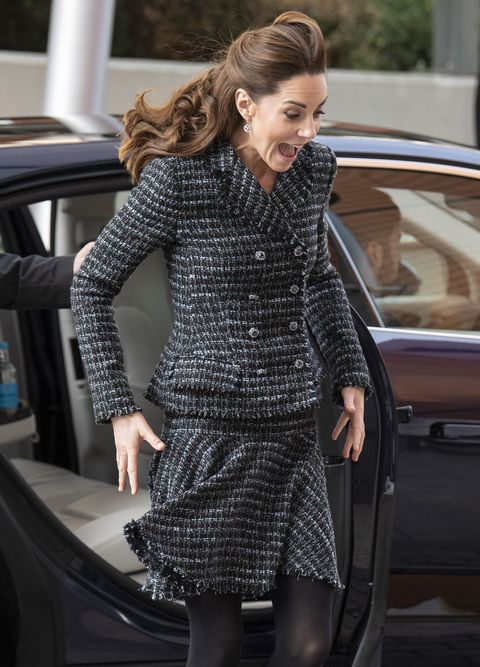 the duchess of cambridge visits the national portrait gallery workshop at evelina london children's hospital