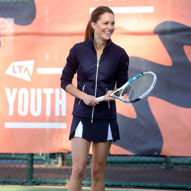 Kate Middleton Gets a Tennis Lesson from US Open Champion Emma Raducanu