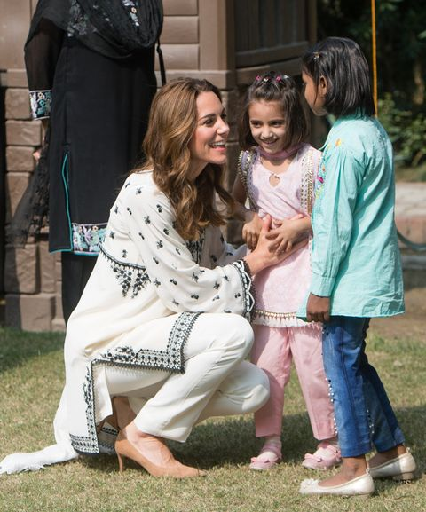 The Duke And Duchess Of Cambridge Visit Lahore