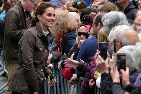 The Duchess of Cambridge reveals Princess Charlotte is looking forward to school