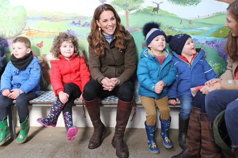 The Duchess Of Cambridge Visits Northern Ireland