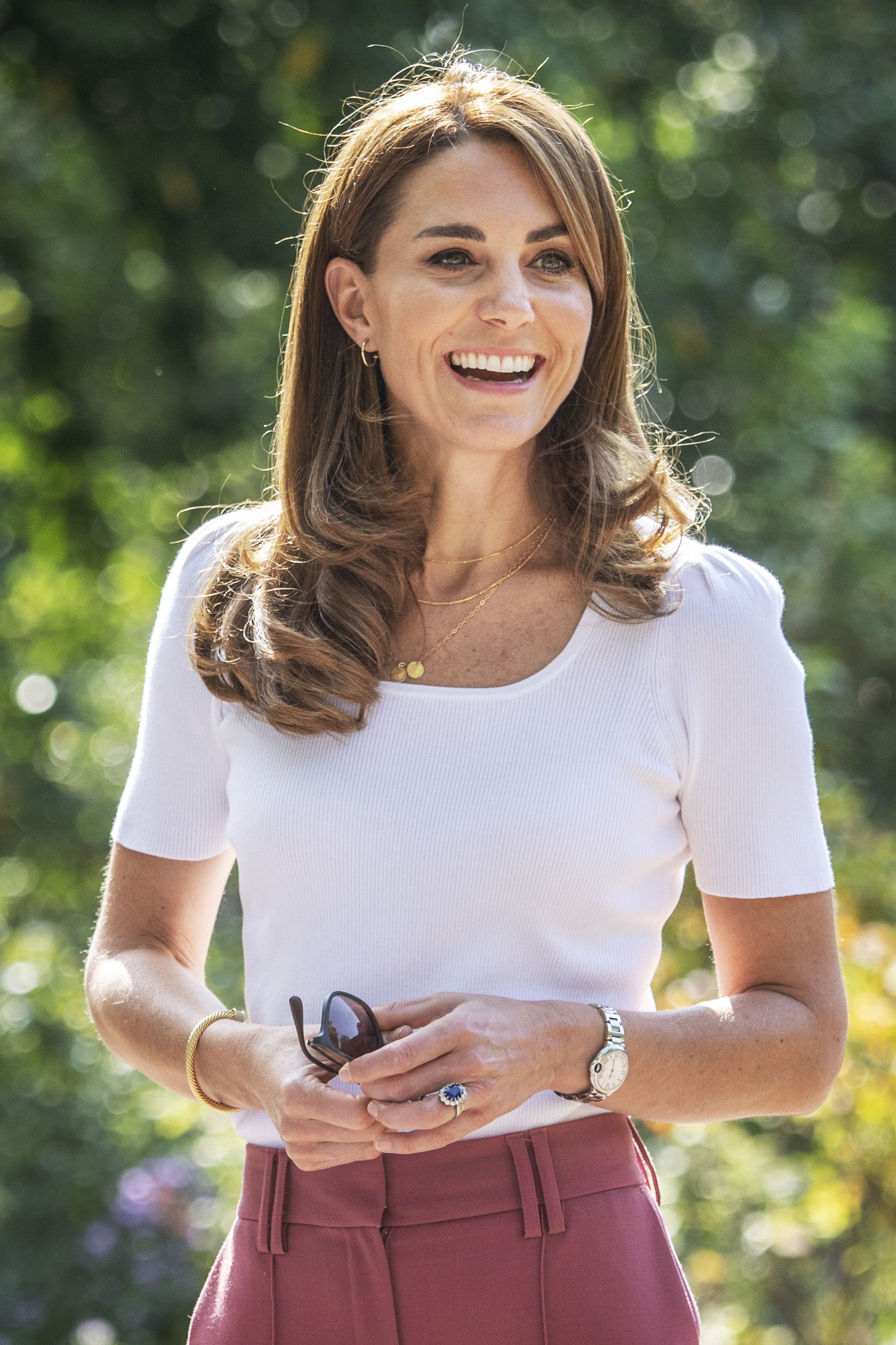 Kate Middleton Wore a Necklace with a Sweet Dedication to Her Three Children
