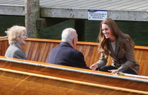 герцогиня кембриджская посещает камбрию