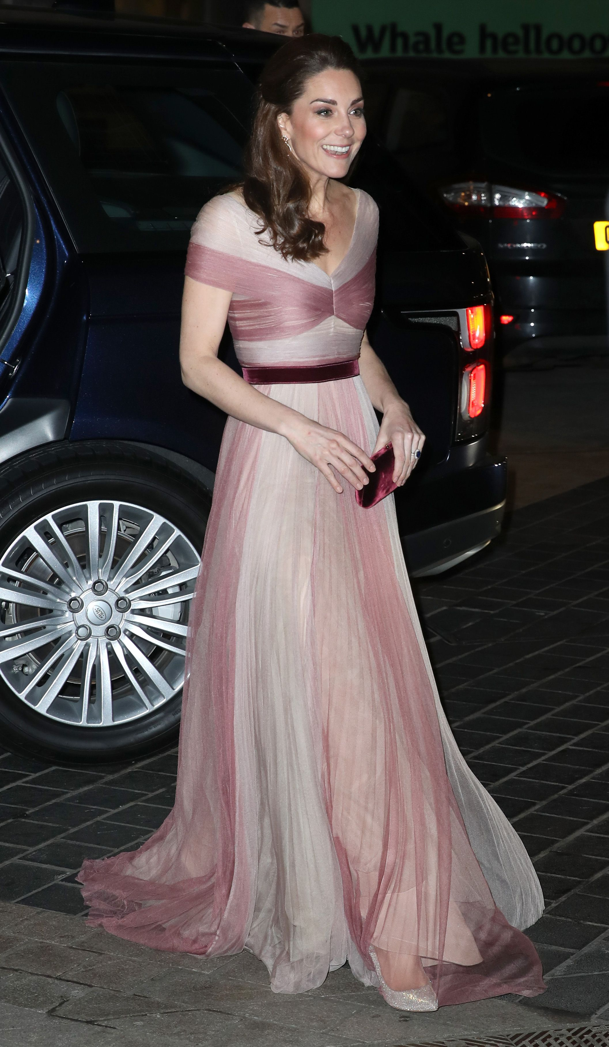 2b161d554 Kate Middleton Wears a Dreamy Gucci Gown for the 100 Women in Finance Gala