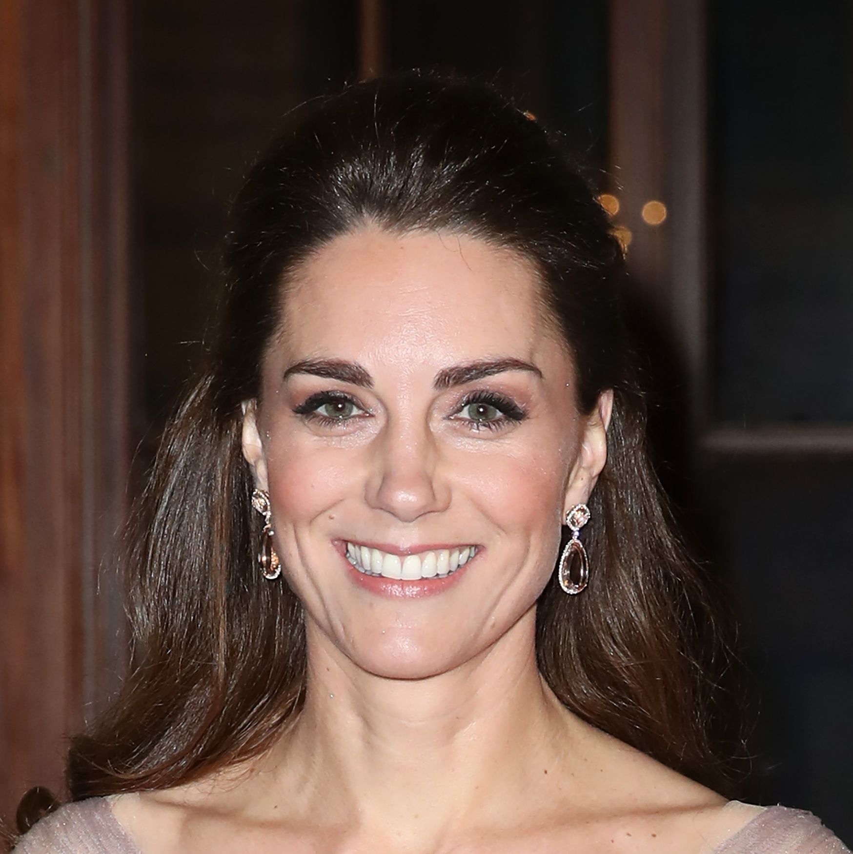 The Duchess of Cambridge wows in glamorous gown at the V&A