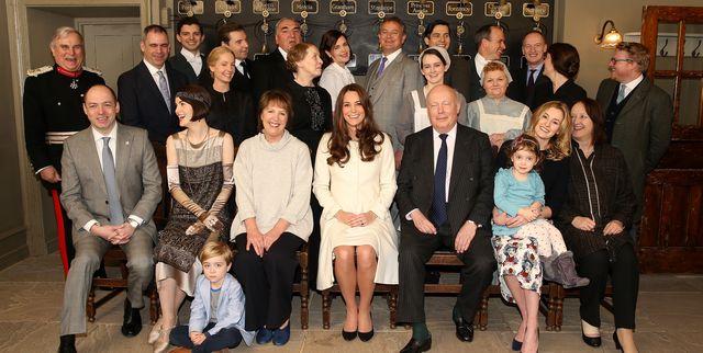 "Kate Middleton Was ""Mesmerizing"" During Her Downton Abbey Set Visit"