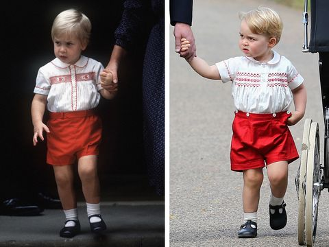prince william and prince george as toddlers