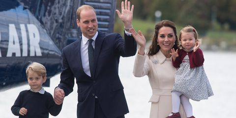 Kate Middleton and Prince William and Prince George and Princess Charlotte
