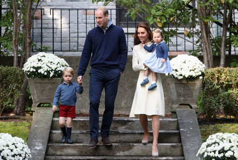 The Duchess of Cambridge reveals George and Charlotte share a love for one of her hobbies