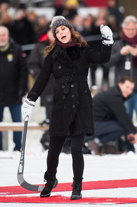 kate middleton cheer The Duke And Duchess Of Cambridge Visit Sweden And Norway - Day 1