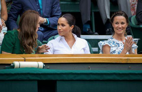 Kate Middleton Megan Markle Wimbledon
