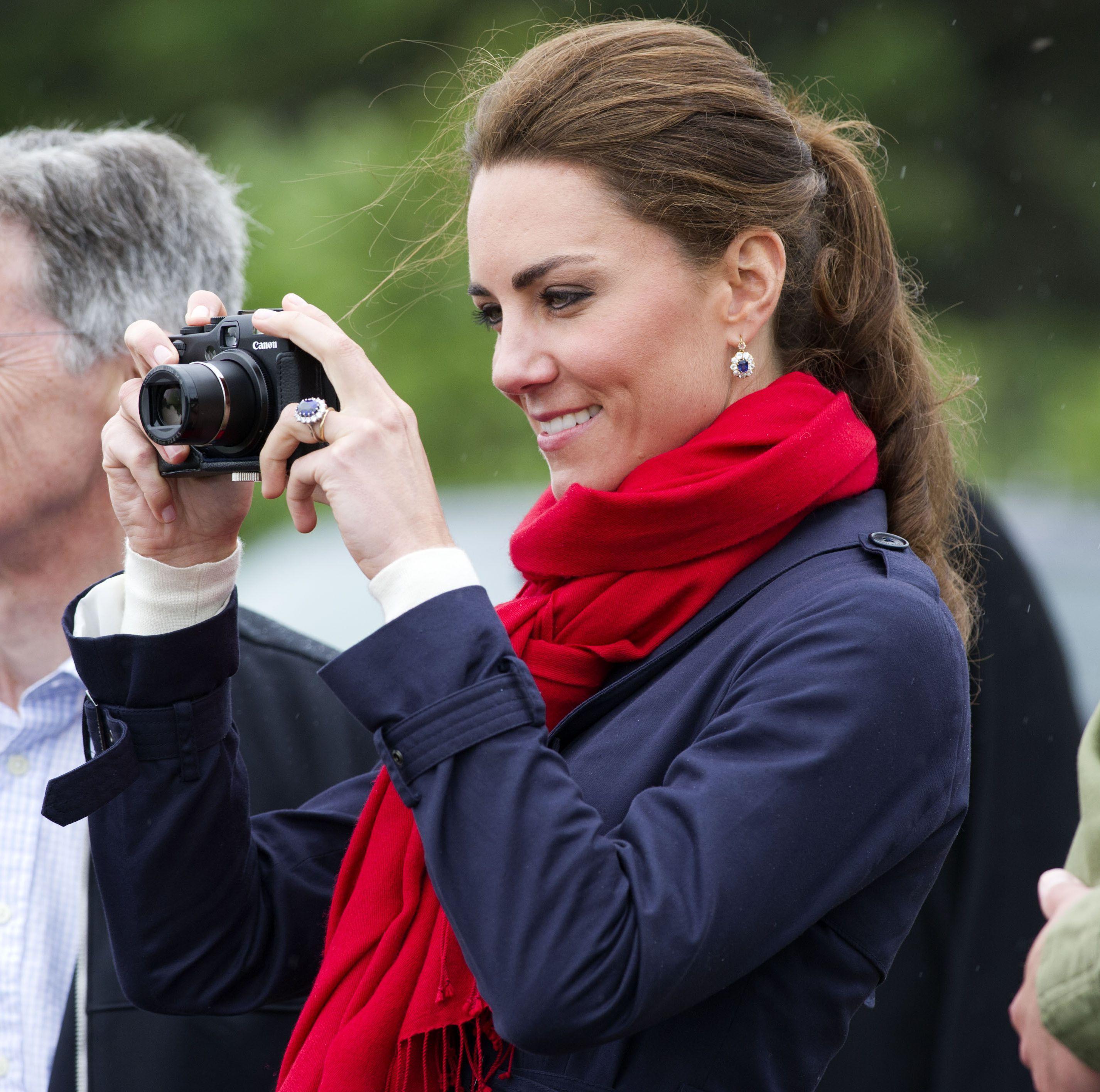 Kate Middleton S Photos Of Her Kids Prince George Princess