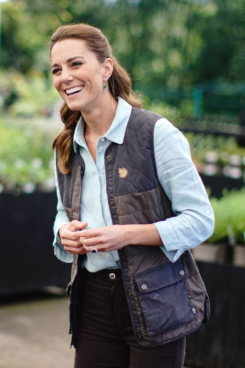 the duchess of cambridge visits garden centre in norfolk