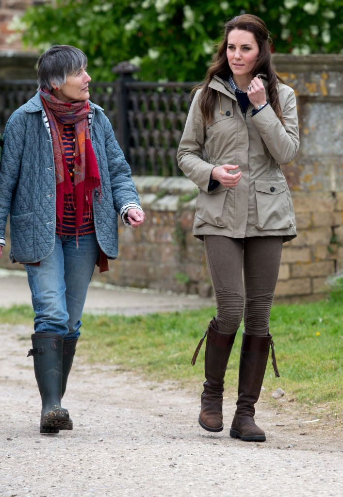Shop Now Penelope Chilvers Long Tassel Boots, $671 The tall pair of Penelope Chilvers boots Duchess Kate wore to an even in Gloucestershire in May 2017 have been quite the investment considering she's been wearing them since 2004 .