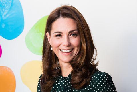 Duchess Of Cambridge Visit Evelina London