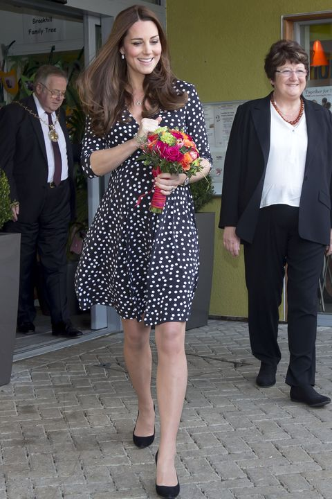 The Duchess Of Cambridge Visits Brookhill Children's Centre