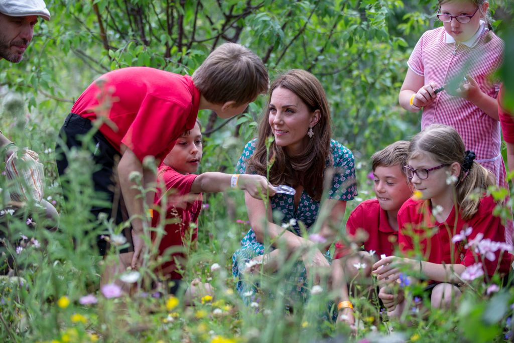 Kate Middleton supports Backyard Nature campaign to encourage children to head outdoors