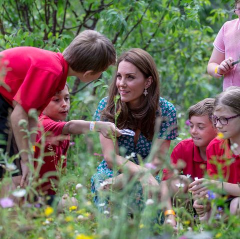 The Duchess of Cambridge Visits Hampton Court Flower Festival